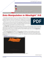 Data Manipulation in MineSight® 3-D