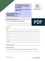 Questionnaire Participatory Status Fr