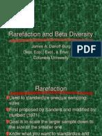 Diversidad Beta