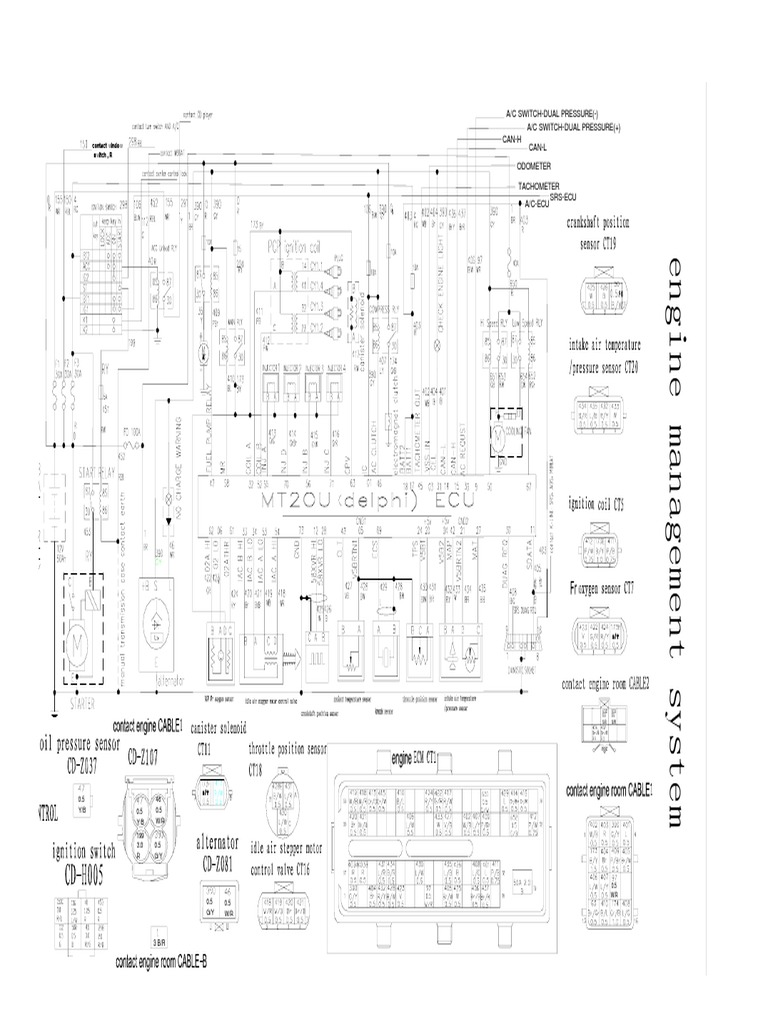 Wiring Diagram For Delphi Radio Pp102275 Auto Electrical Throttle Position Sensor Schematic Great Wall Mt20u Ecu