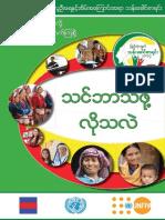 2014 Myanmar Census Handbook (Burmese version)