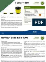 Nonel Lead Line 1000 a