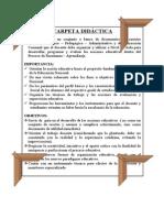 ESTRUCTURA SUGERIDA carpeta