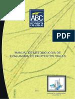 Manual de Metodologia de Evaluacion de Proyectos Viales Caratula - Indice