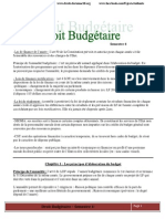 Droit Budgetaire s4