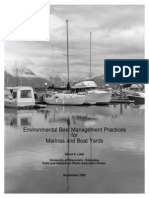 Best Management Practices for Marinas and Boatyards