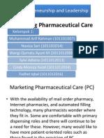 6. Marketing Pharmaceutical Care