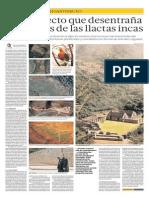 LLACTAS INCAS (CIUDADES INCAS) - El Comercio - Guzmán 2014