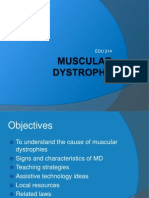 Muscular Dystrophy Presentation