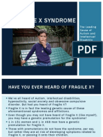 Fragile X Syndrome Charlotte Andreasen