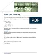 Application Kata Cal