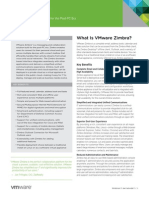 Zimbra Collaboration Server Network Edition Data Sheet