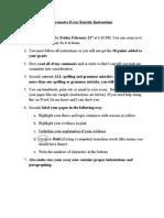 persuasive essay rewrite instructions