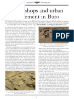 Workshops and Urban Settlement in Buto - Egyptian Archaeology 40 2012 p. 14-17
