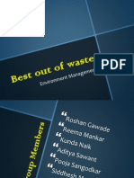 Best Out of Waste Ppt