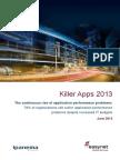 2013 Killler Apps Survey