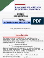 Clase Modelos Dicotomos