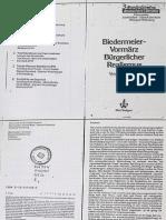 Bark - Biedermeier-Vormärz, bürgerlicher Realismus