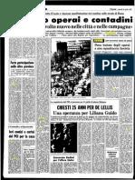 città e lotte operaie - L'Unità '71