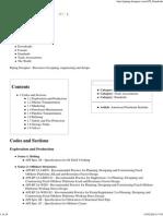 API Standards - Piping Designer
