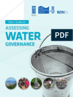 Users Guide on Assessing Water Governance