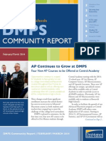 DMPS Community Report - February/March 2014