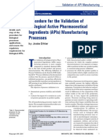 Biologic API Manufacturing Validation Josee Ethier