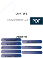 Chapter 5 - Communication & Network