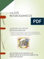 Ciclos Biogeoquimicos Expo