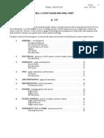 b 777 Oral Study