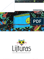 Lijturas, grupo de estudio sobre literatura para niños y jóvenes. Memoria 2013 .pdf