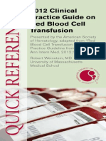 Pocket Guide on Red Cells 2012