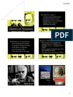 Rene Girard and Mimetic Theory