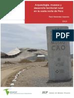 Arqueologia Museos y Desarrollo Territorial Rural en La Costa Norte Del Peru