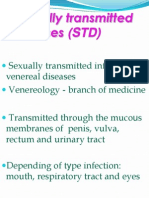 Sexually Transmitted Diseases n