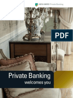 Private Banking Welcomes You