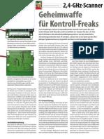 2,4-GHz Scann Geheimwaffe für Kontrollfreaks