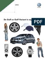 Golf en Golf Variant Accessoirebrochure