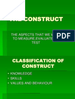 The Construct English
