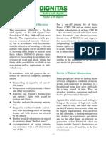 Informations Broschuere Dignitas e