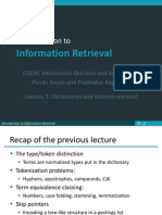Lecture3 Tolerant Retrieval