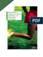Guía sobre el deporte, el medio ambiente y el desarrollo sostenible