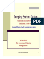 Pumping Stations Design Lecture 6