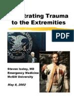 Penetrating Extremity Trauma