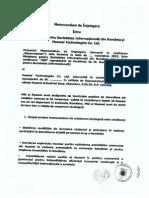 Memorandum MSI Huawei
