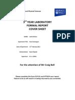 Lab 5 - Heat Exchangers - Report1