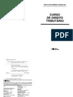 Carvalho, Paulo de Barros - Curso de direito tributario.pdf