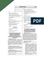 Ley 30161 Sobre Declaraciones Juradas