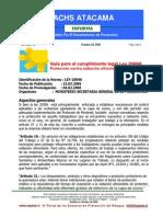 Ley 20096 - GuiaOzono
