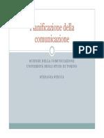 Pianificazione Della Comunicazione_aa2012!13!2^ Parte